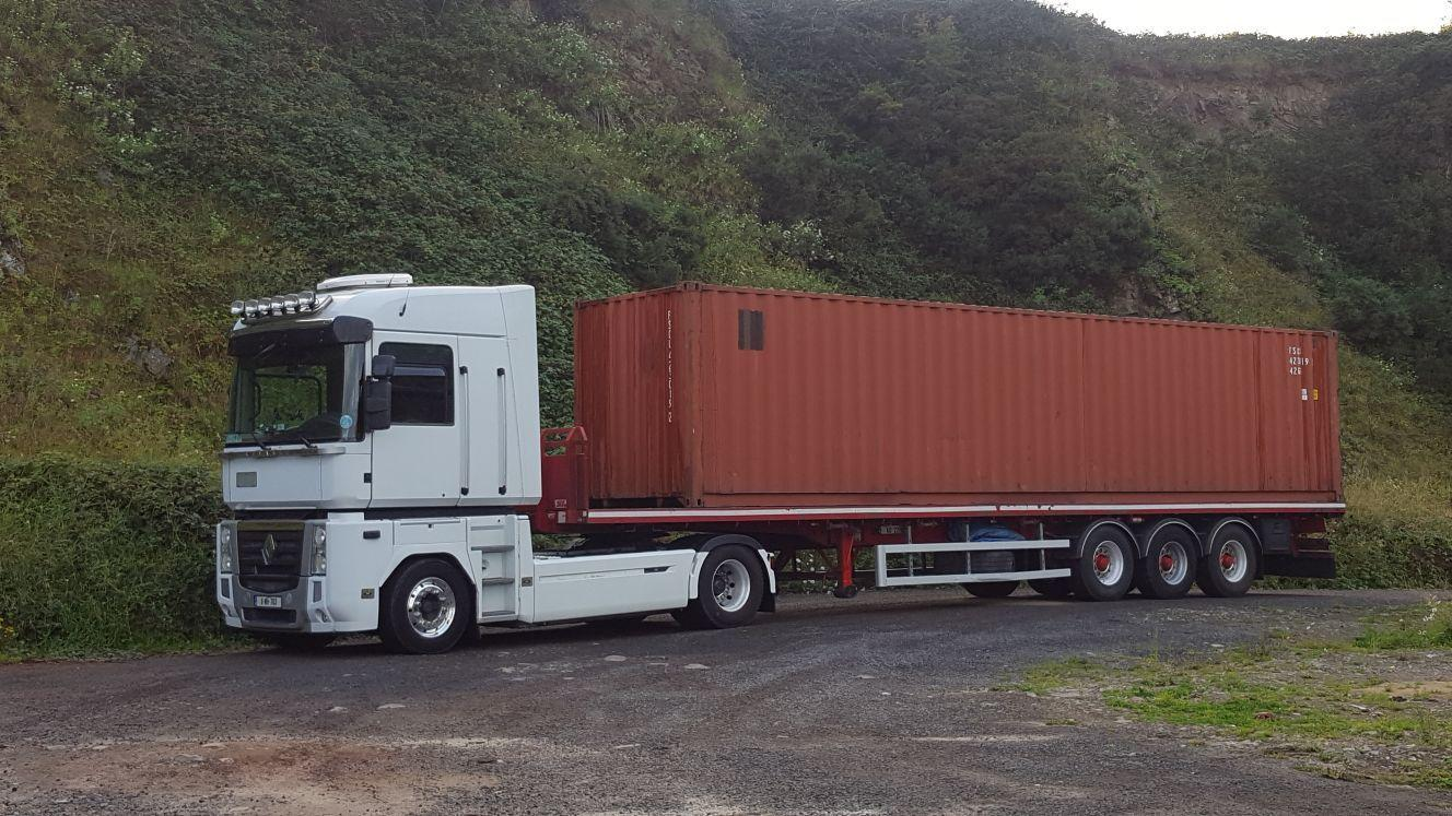 Truck and Container